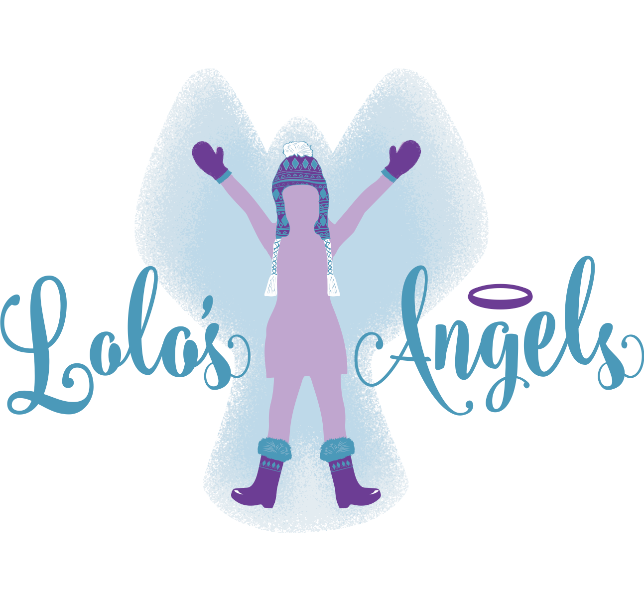 Lolo's Angels Logo Full